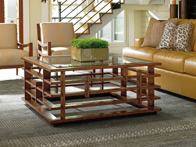 Island Fusion Nobu Square Occasional Table Set