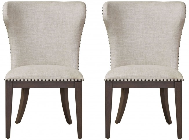 Curated Graphite Stain Baldwin Chair Set of 2