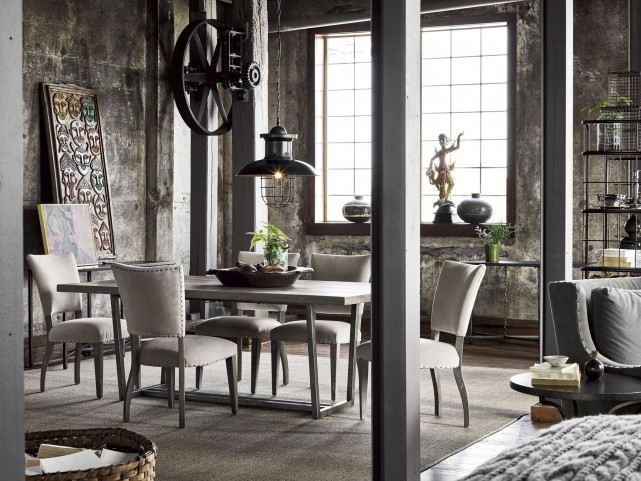 Curated Greystone Sedgwick Dining Room Set
