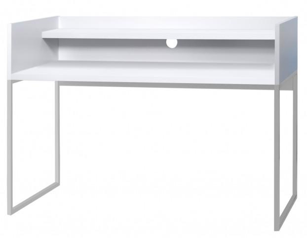 Oslo White Home Office Desk