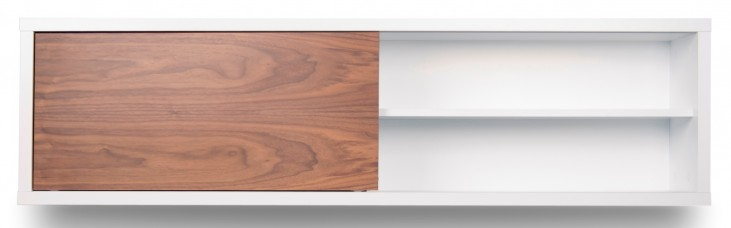 Nilo Walnut Door Modular Wall Unit