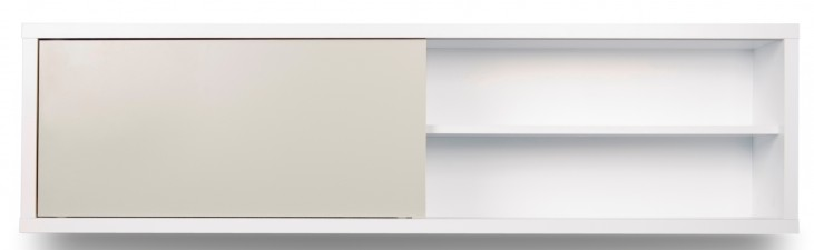 Nilo White and Light Grey Wall Module