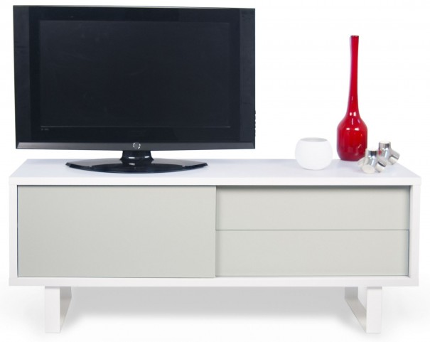 Nilo Light Grey Door TV Table