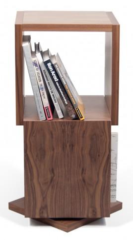 Shell Walnut Display Shelf