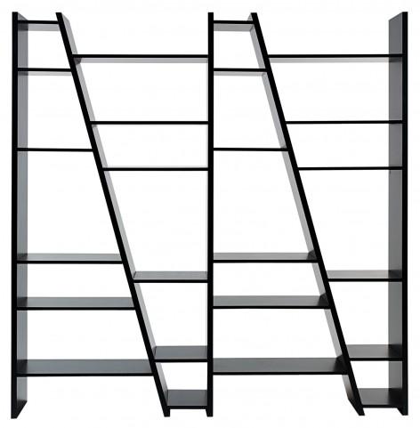 Delta Black 4 Piece Bookcase