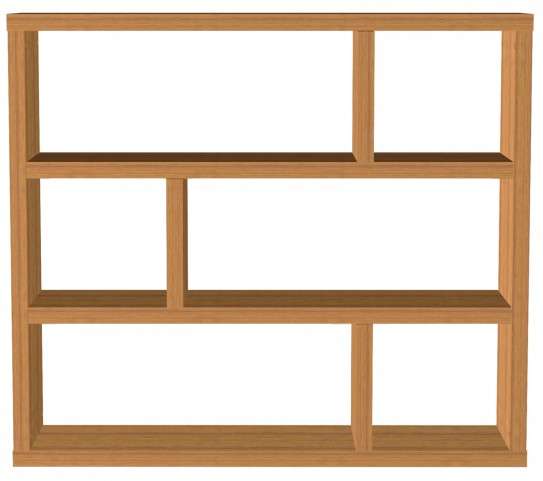 Dublin Mukali Low Bookcase