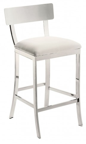 Maiden White Counter Stool