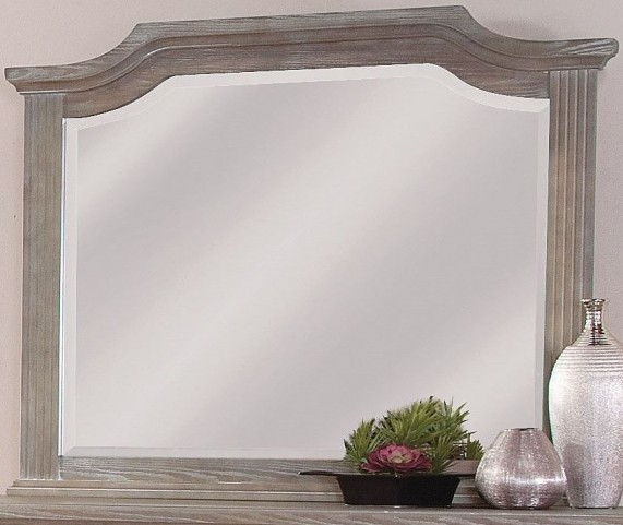 Affinity Reclaimed Gray Arch Mirror