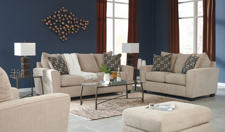 Wixon putty living room set 5700338 ashley for 17 x 14 living room