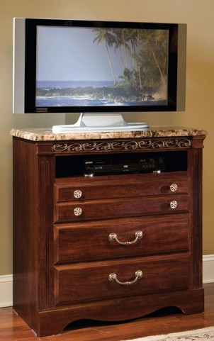 Triomphe Brown Zinfandel Cherry TV Chest