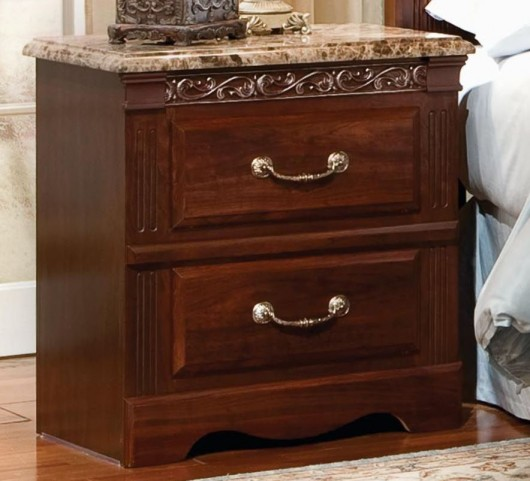 Triomphe Brown Zinfandel Cherry Nightstand