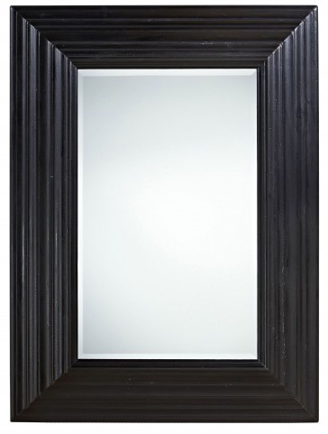 Authenticity Black Portrait Mirror