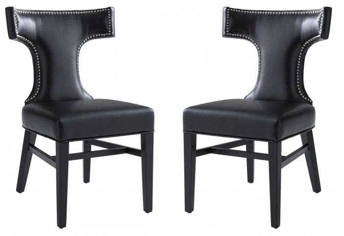 Serafina Black Dining Chair Set of 2