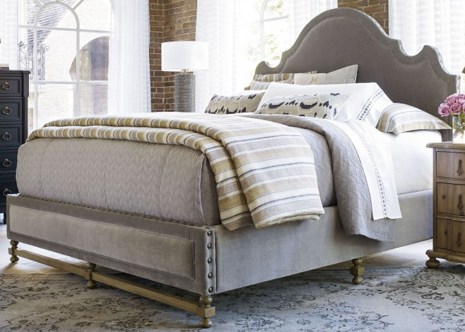 Authenticity Queen Lyon Platform Bed