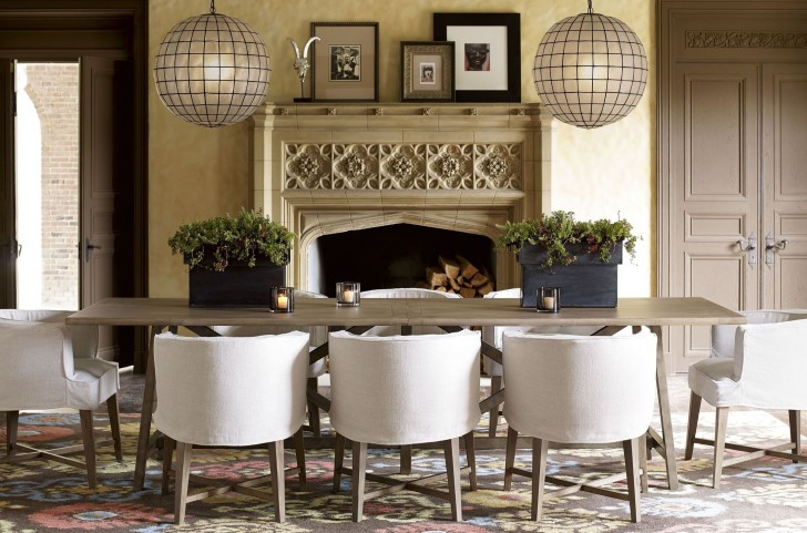 Authenticity Khaki Reunion Dining Room Set