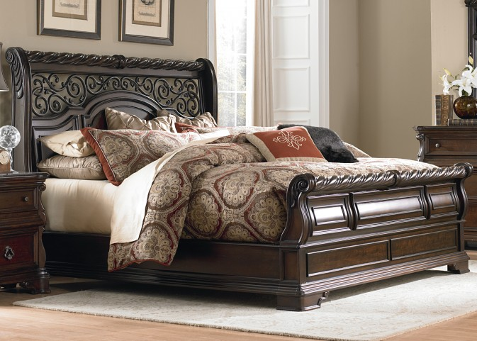 Arbor Place King Sleigh Bed