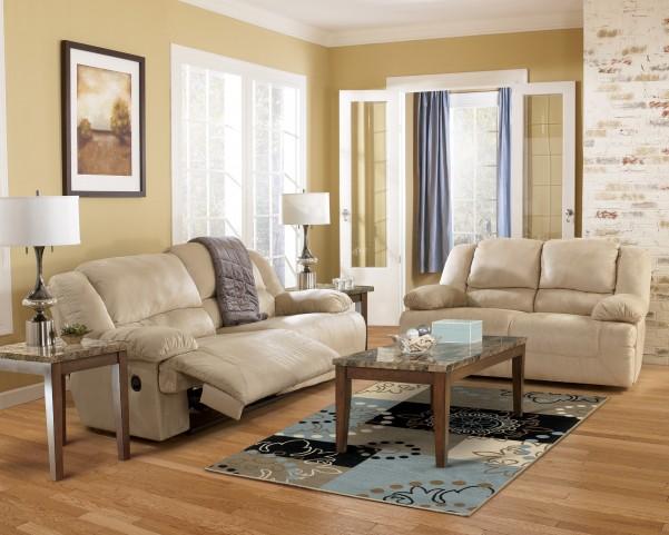 Hogan Khaki Reclining Living Room Set