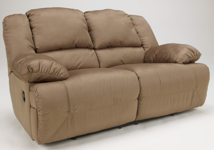 Hogan Mocha Reclining Loveseat