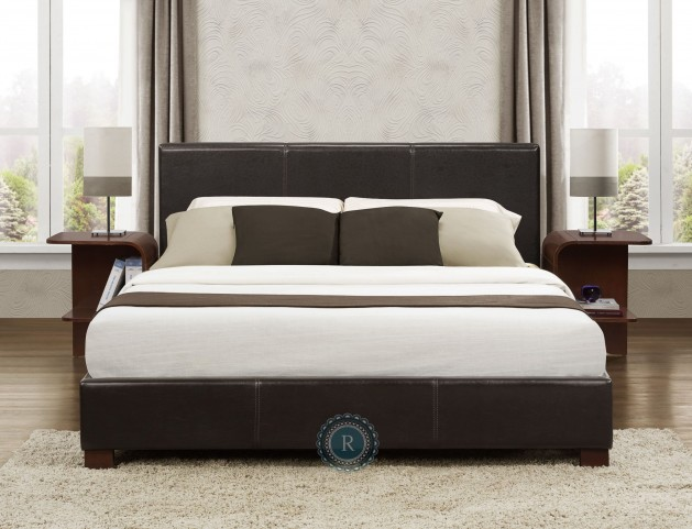 Zoey King Upholstered Bed