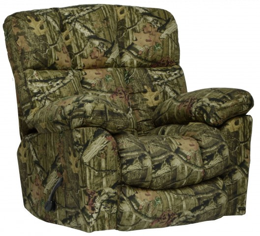 Chimney Rock Mossy Oak Infinity Lay Flat Recliner