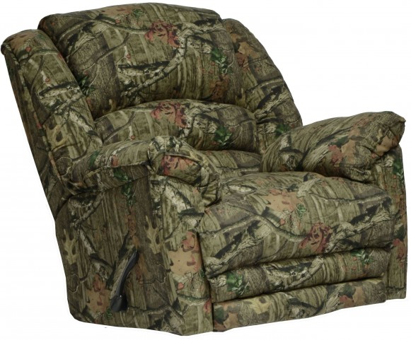 Yosemite Mossy Oak Infinity Chaise Rocker Recliner