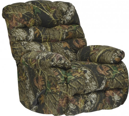 Flat Rock Mossy Oak New Breakup Chaise Rocker Recliner