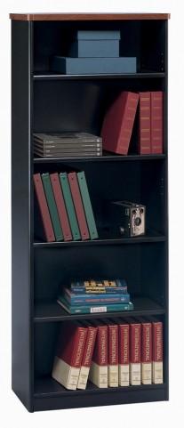 Series A Hansen Cherry 26 Inch 5-Shelf Bookcase