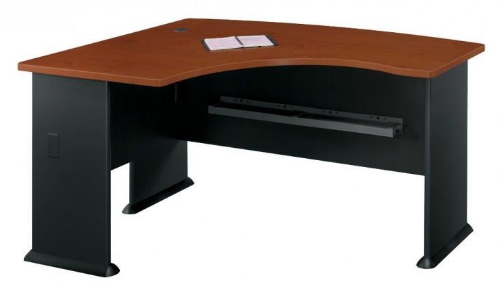 Series A Hansen Cherry 60 Inch LH L-Bow Desk