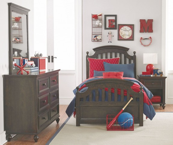 Academy Molasses Youth Panel Bedroom Set