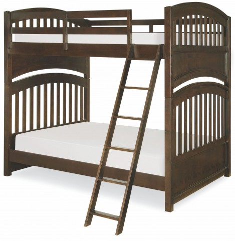 Academy Molasses Full over Full Bunk Bed