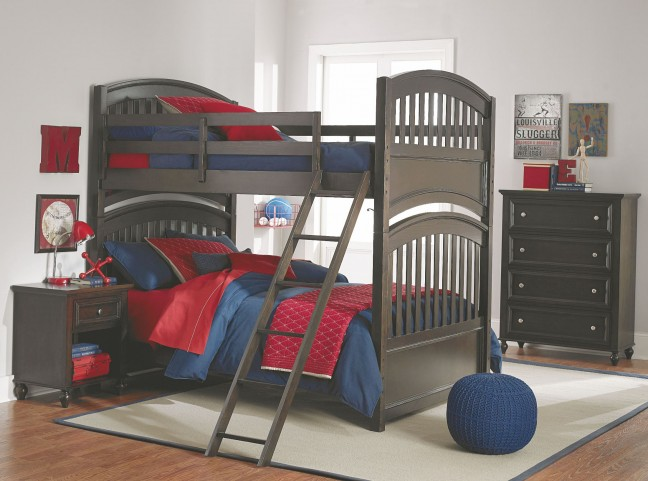 Academy Molasses Bunk Bedroom Set