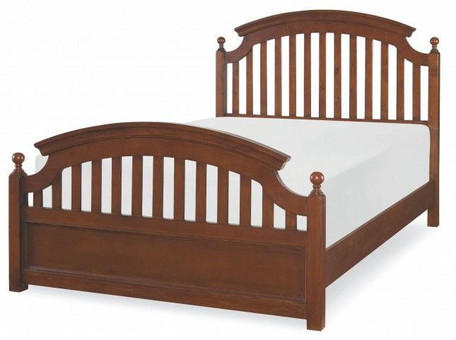Academy Cinnamon Twin Panel Bed