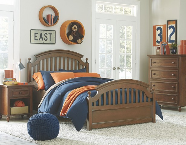 Academy Cinnamon Youth Panel Bedroom Set