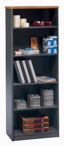 Series A Natural Cherry 26 Inch 5-Shelf Bookcase