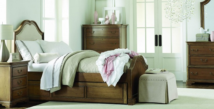 Danielle French Laundry Youth Upholstered Panel Bedroom Set