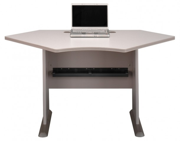 Series A Pewter 42 Inch Corner Desk