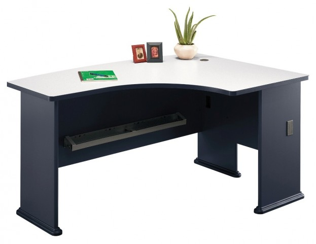Series A Slate 60 Inch RH L-Bow Desk