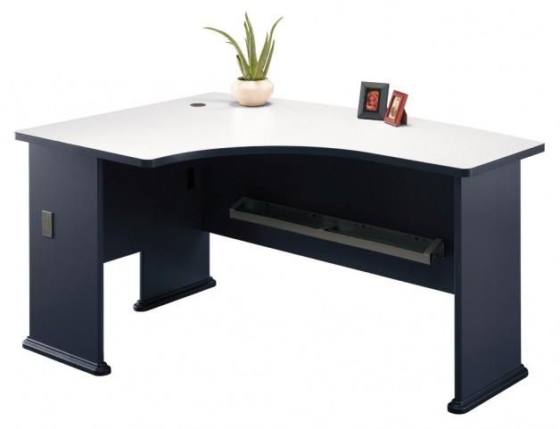 Series A Slate 60 Inch LH L-Bow Desk