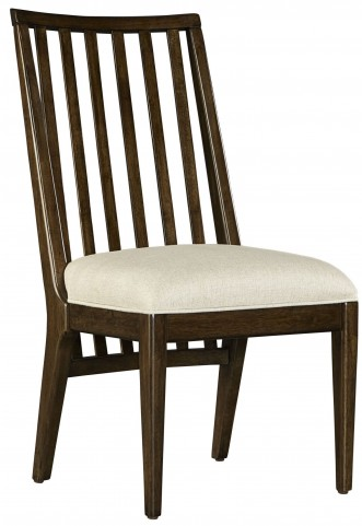 Santa Clara Burnished Walnut Wood Side Chair