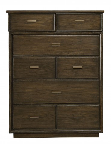 Santa Clara Burnished Walnut Drawer Chest