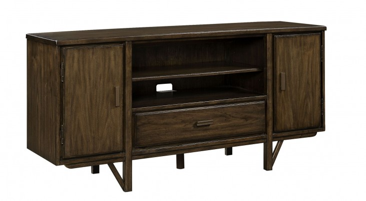 Santa Clara Burnished Walnut Media Console