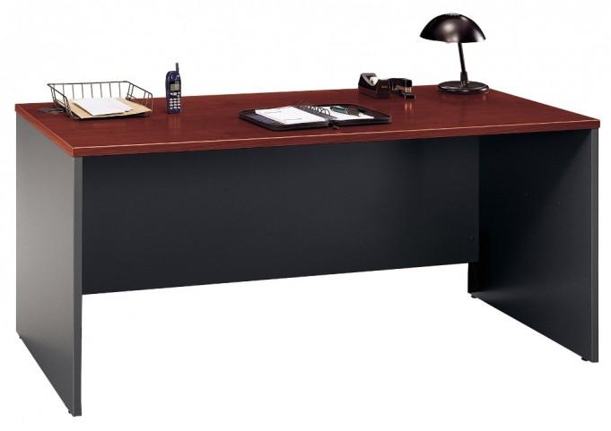 Series C Hansen Cherry 66 Inch Desk Shell