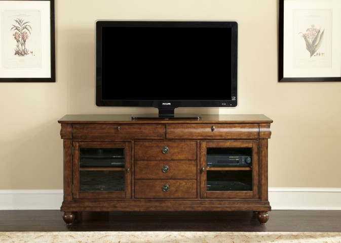 Rustic Traditions Entertainment TV Stand