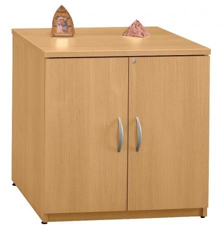 Series C Light Oak 30 Inch Storage Cabinet