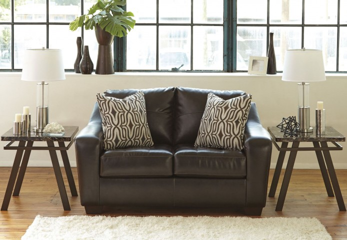 Coppell DuraBlend Chocolate Loveseat