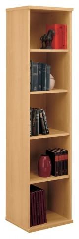 Series C Light Oak 18 Inch 5-Shelf Bookcase