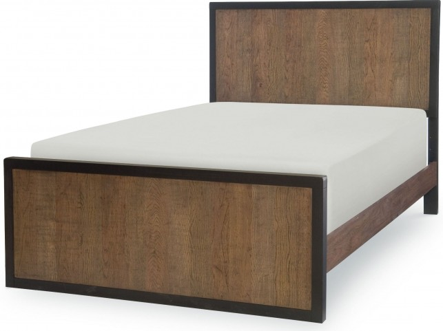 Fulton County Tawny Brown Full Panel Bed
