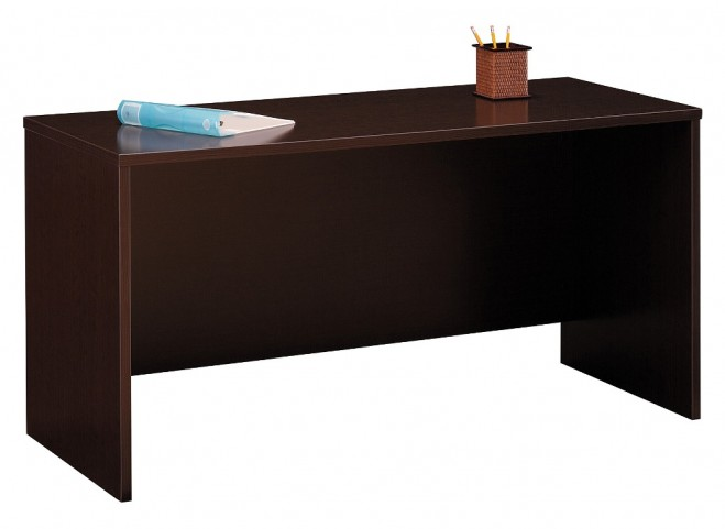 Series C Mocha Cherry 60 Inch Credenza Shell