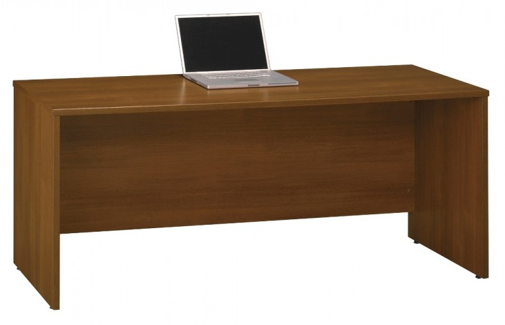 Series C Warm Oak 72 Inch Credenza Shell