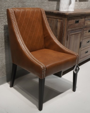 Malabar Cognac Dining Chair